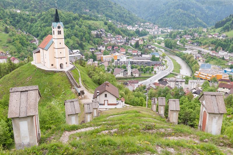 Church of Saint Anthony, Idrija, Slovenia