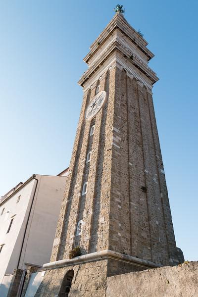 Bell tower, Piran, Slovenia
