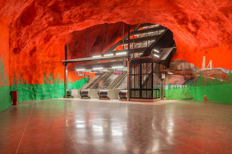 Solna Centrum station, Stockholm