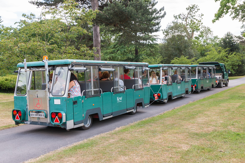Train, Kew Gardens, London