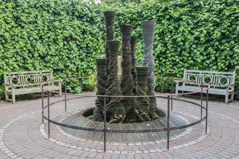 Secluded Garden, Kew Gardens, London