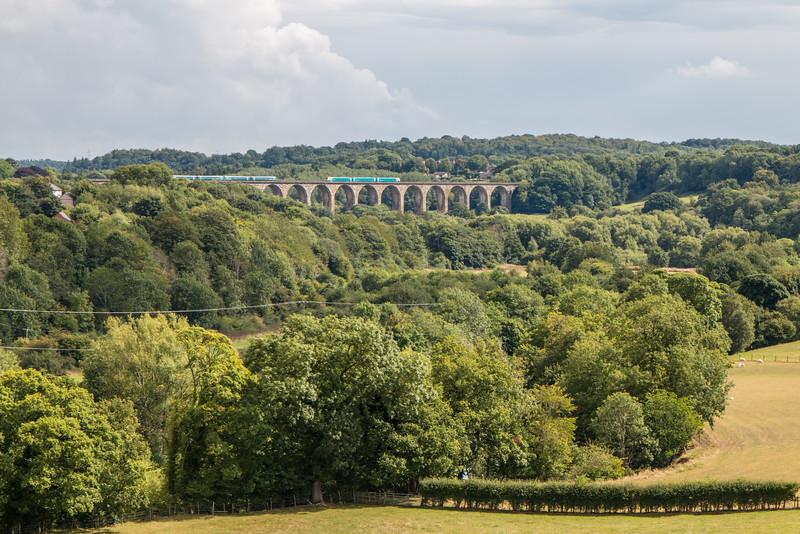 Dee Valley train, Wales