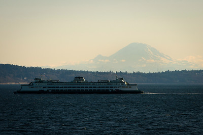 Kingston Ferry, Washington State