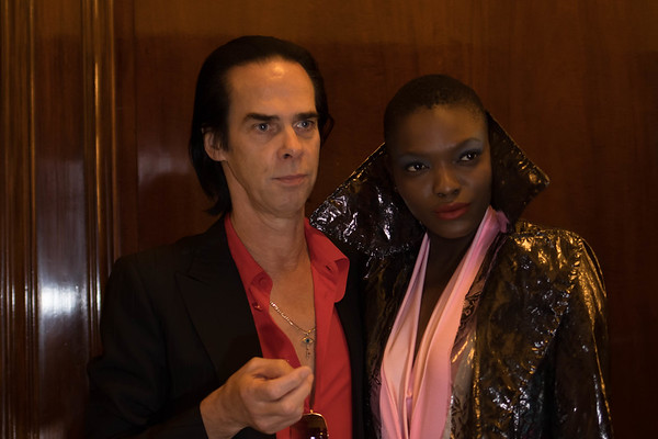 Nick Cave  at London Fashion Scout SS18 London