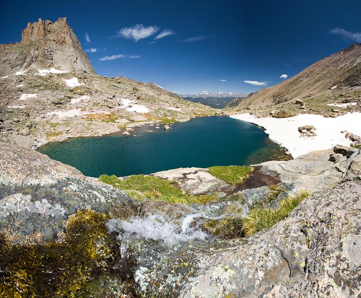 Green Lake, Rocky Mountain National Park<br /> 4 photos.
