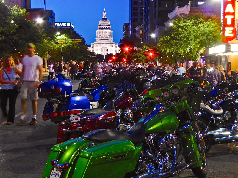 Blue Hour at the Capitol, ROT Rally 2016 - Austin, Texas