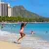 Boundless Joy, Waikiki Beach - Honolulu, Hawaii