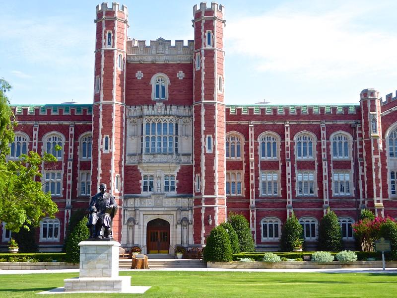 Evans Hall, University of Oklahoma - Norman, Oklahoma