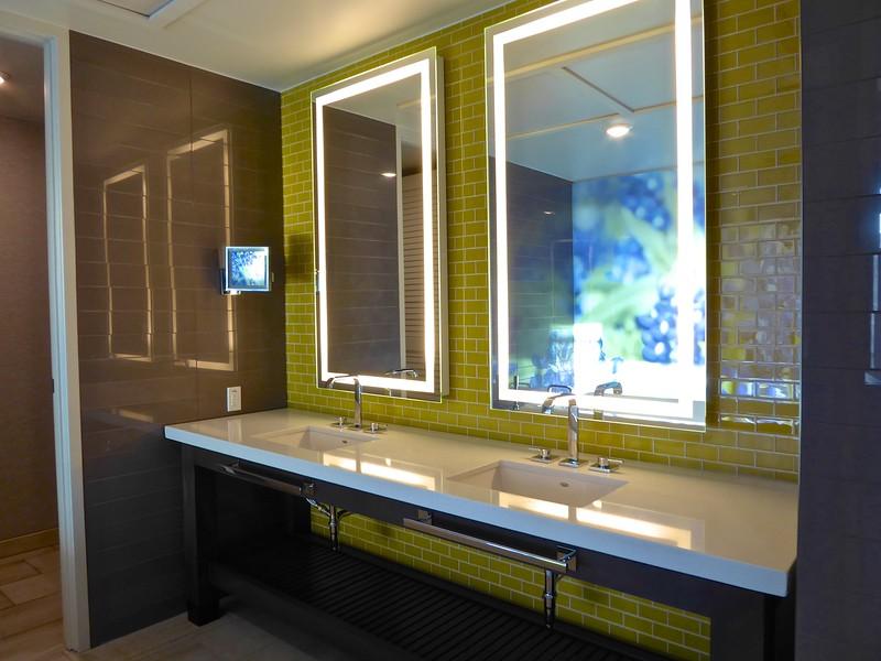 Archer Hotel Bathroom, The Domain - Austin, Texas