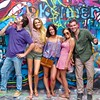 A group portrait at the Graffiti Park #1 - Austin, Texas