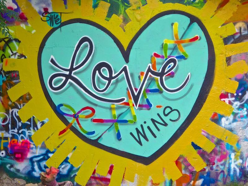 Love, Graffiti Park - Austin, Texas