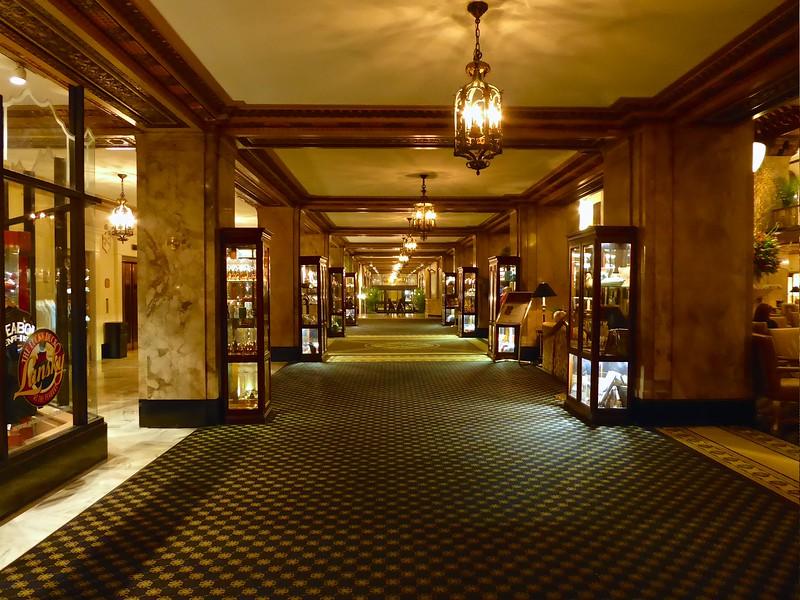 Peabody Hotel Interior - Memphis, Tennessee