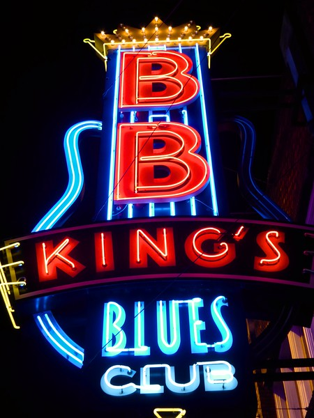 BB King's Neon - Memphis, Tennessee