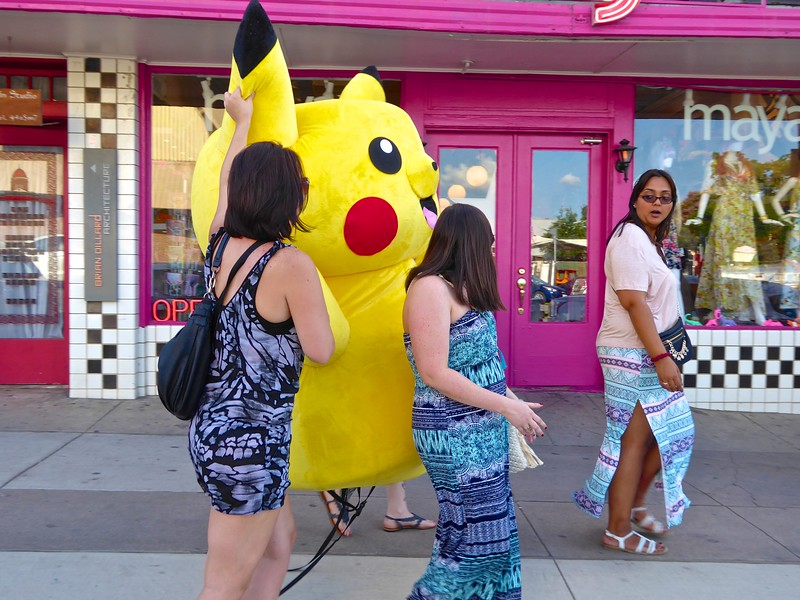 Pokemon Go in real life - Austin, Texas