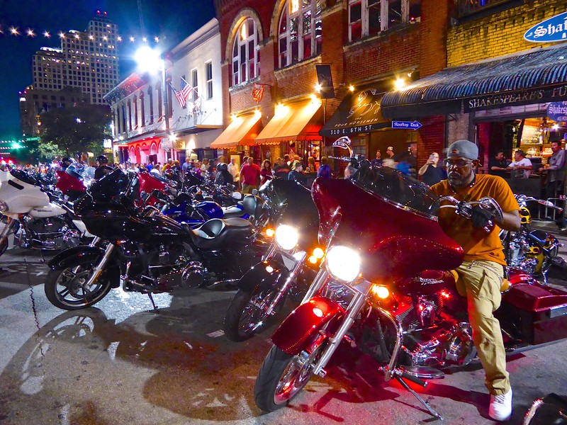 Bikes and Bars on 6th, ROT Rally 2016 - Austin, Texas