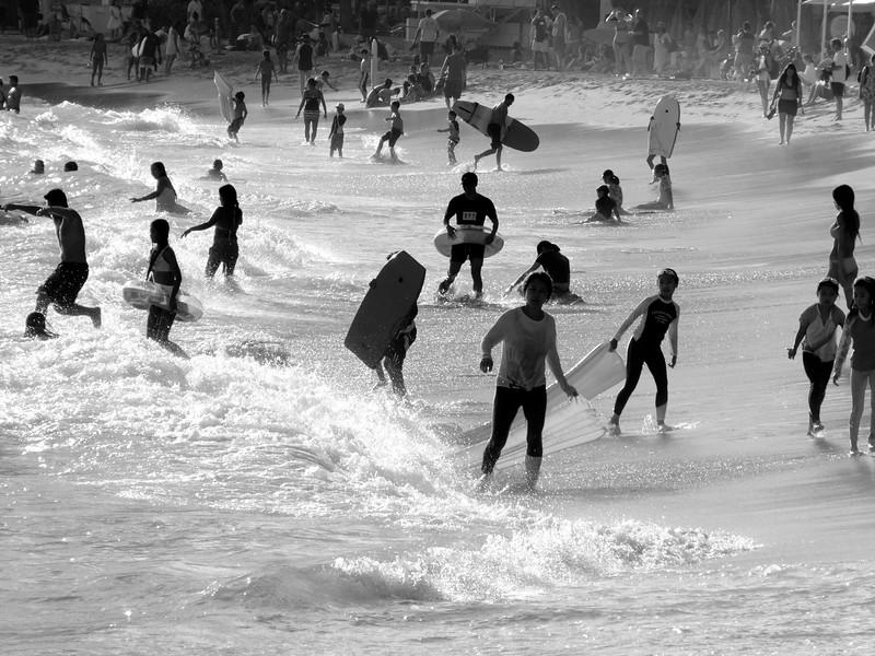 Bodies in Motion, Waikiki Beach - Honolulu, Hawaii