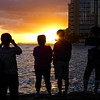 Appreciating Sunsets - Honolulu, Hawaii