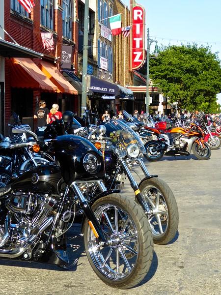 Harleys at the Ritz, ROT Rally 2016 - Austin, Texas