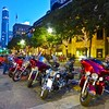 Blue Hour on Congress Avenue, ROT Rally 2016 - Austin, Texas