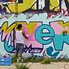 Creating Art, Graffiti Park - Austin, Texas