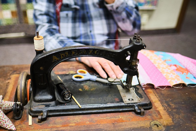 A Quilt Sewing Machine