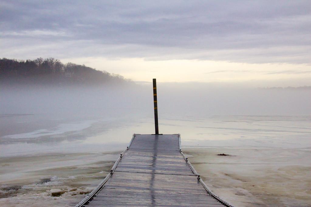 Fog Over Bay