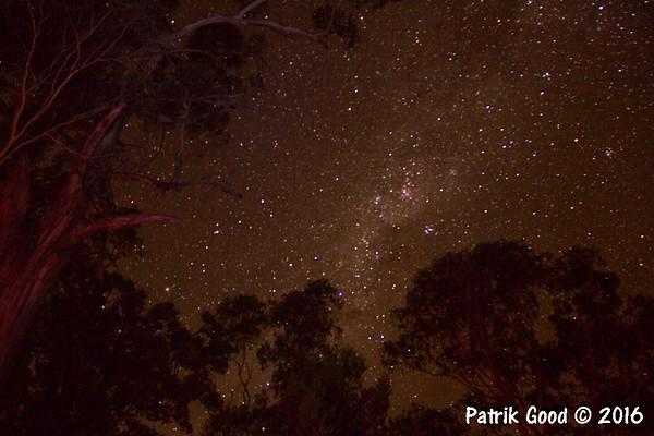 Australian Camping Night