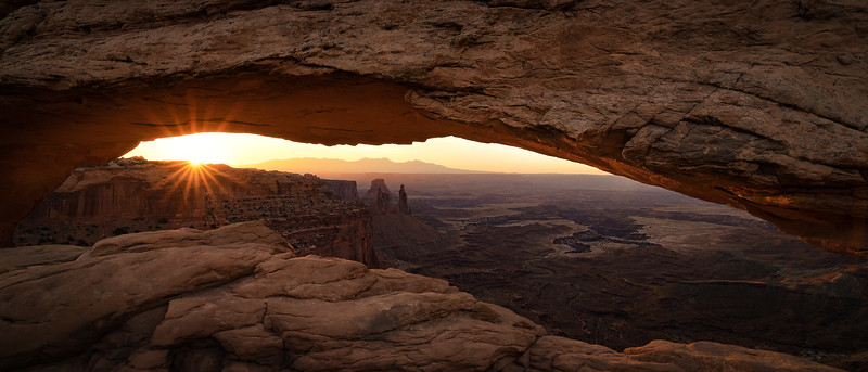 My take on a the classic sunrise shot. Probably my favorite shot of Mesa Arch.