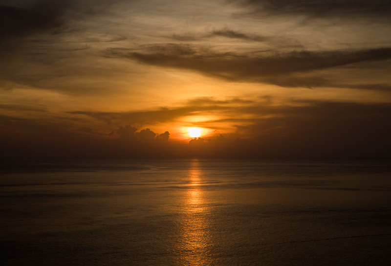 sunsets in Phuket are simply beautiful
