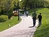Walking Along the River Bank