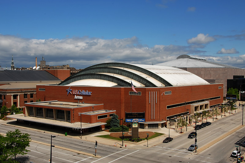 U.S. Cellular Arena in Milwaukee