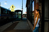 A nice shot on a city corner.  Shadows and grain enhanced.