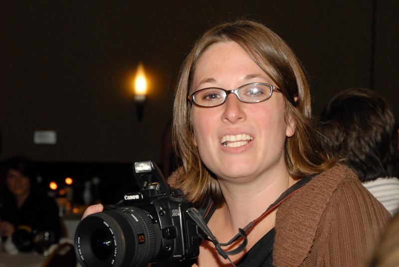 Nicole the professional photographer.