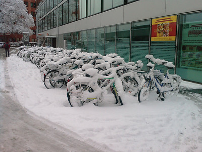 Cool weather for bikers!