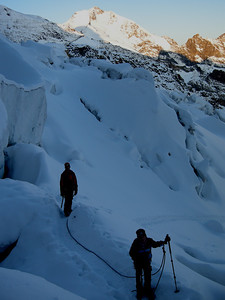 Cambrena icefall