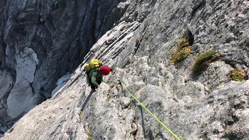 Video: Pizzo Badile, Via Cassin