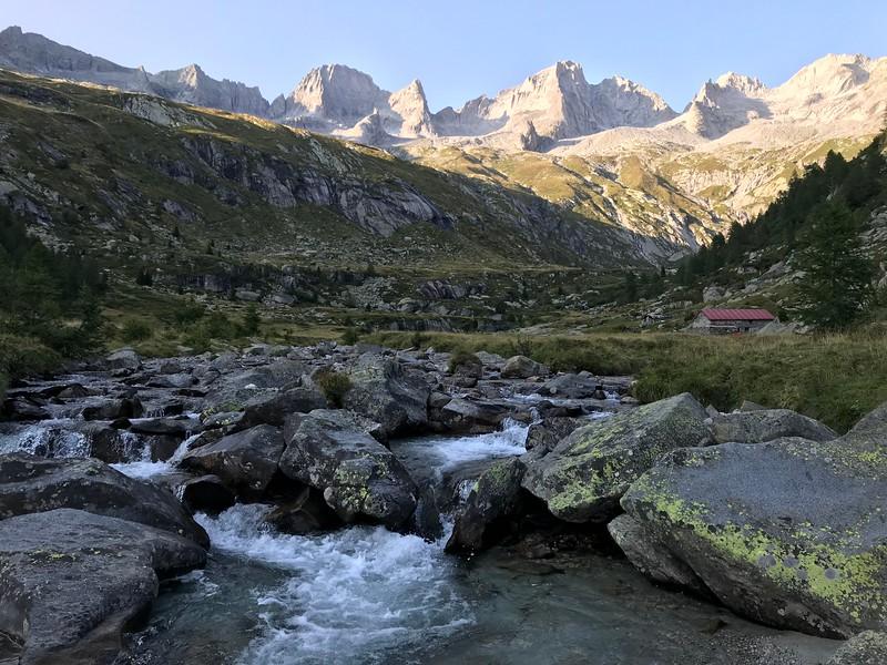 Pizzo Badile, Via Cassin