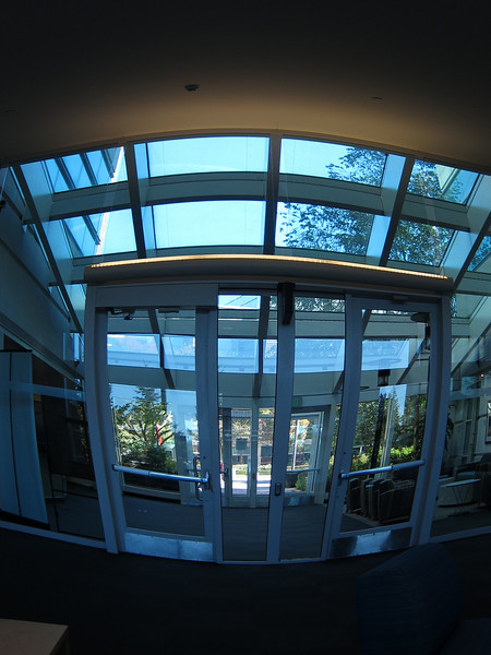 In-Camera fisheye effect