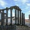 Evora, Diana-Tempel en de Kathedraal
