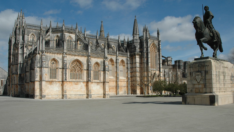 De kerk van Batalha