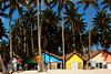 Shops on the beach in Punta Cana, Dominican Republic