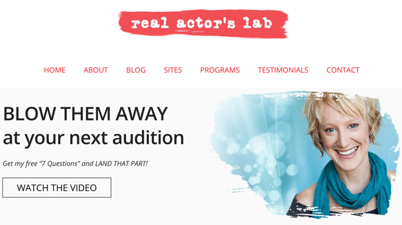 Zoom Acting Coach https://realactorslab.com/
