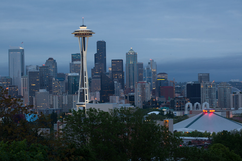 Unprocessed Random Photo from the shoot - Kerry Park for the Sunrise Golden Hour that would never happen