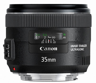 New Canon 35mm f/2 IS