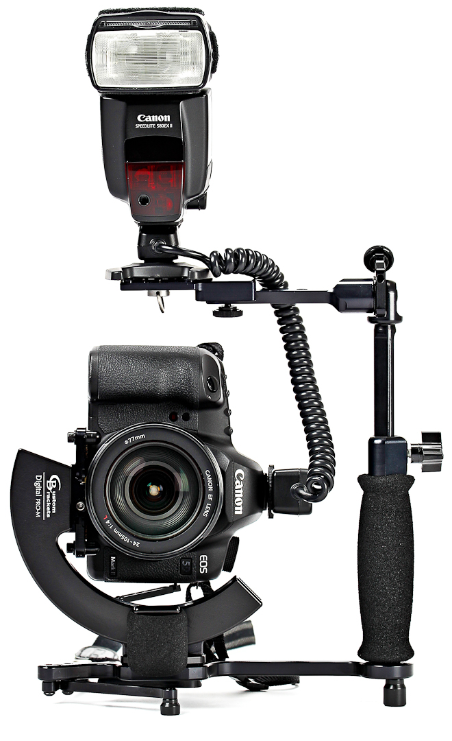 This Bracket Helps The Most With Portrait Mode And It Works Great 580EX II Or SB 900