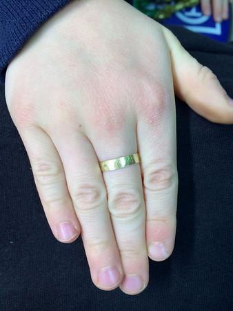 Tucker's new ring