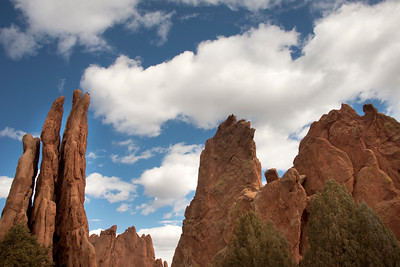 Red Rocks at Garden of the Gods