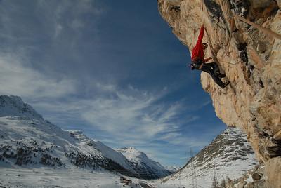 Snowboarding or climbing? Let's go climbing!!