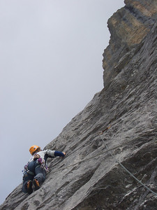 1st pitch of Excalibur, Wenden, Switzerland