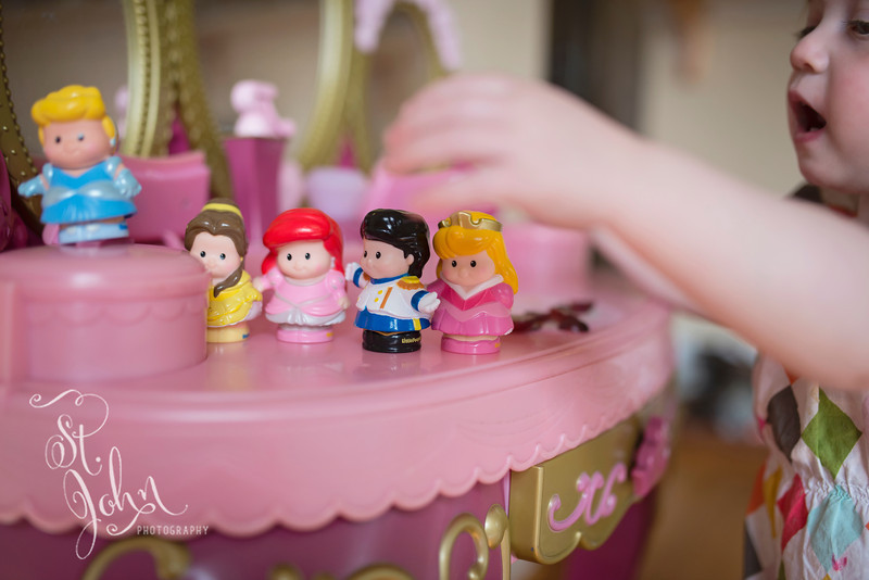 More Small Things... Madeline LOVES to play with her Little People Princesses. Thanks Lillian!